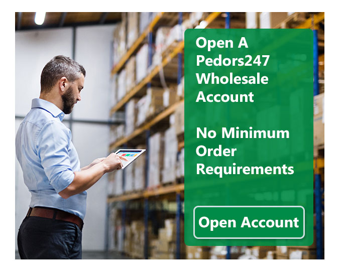Businesses Can Open A Wholesale Ordering Account on Pedors247.com